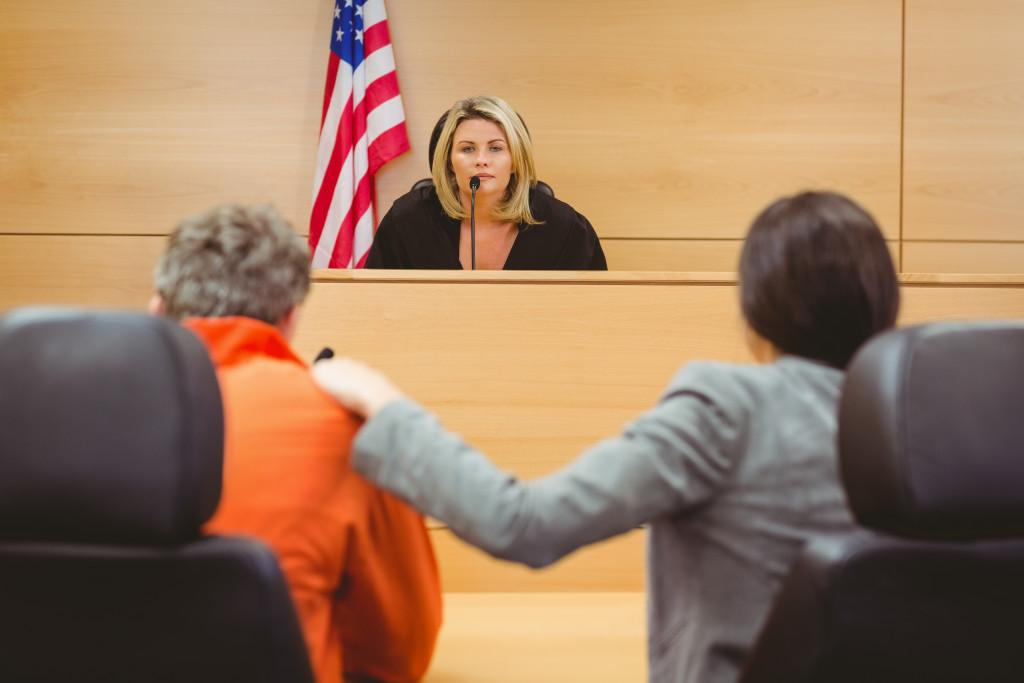 court proceeding